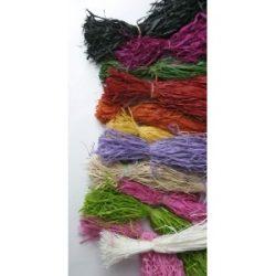 raffia különböző színekben